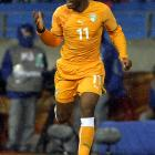 Didier Drogba was feared lost for the 2010 World Cup after breaking his arm on a high challenge by Japanese defender Marcus Tulio Tanaka in the final friendly before group play began. The Ivory Coast striker had surgery to repair the arm, was outfitted with a soft cast and allowed to play in the first match against Portugal (0-0 draw), coming on as a substitute in the 66th minute.