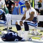 After sharing the MVP award during the 2003 season, McNair suffered a bruised sternum on Sept. 26, 2004 against the Jaguars. The Alcorn State product defiantly chose to play through agonizing pain in five more games for the Titans, even after the team's playoff prospects faded away.