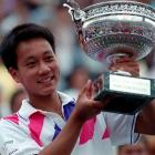 Screaming in pain as he played with a severe case of leg cramps, the 17-year-old Chang gutted out a 4-6, 4-6, 6-3, 6-3, 6-3 win over Ivan Lendl in a 1989 French Open semifinal. He dropped to his knees and cried after the match, and a week later became the youngest male champion in Grand Slam history.