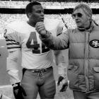 The Hall of Fame defender mangled his left pinky in a 1985 game against the Cowboys in a collision with Cowboys running back Tommy Newsome. He briefly came out of the game, but returned and then taped it up for the season ending loss to the Giants. In the offseason doctors said he could either go multiple procedures, including a skin graft, to restore full use of the finger, and possibly miss playing time, or amputate the tip of his pinky and play right away. He chose the latter and made his 3rd Pro Bowl that next season.