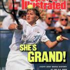 Graf's victory over Gabriela Sabatini in the 1988 U.S. Open didn't just seal her Career Grand Slam. It completed only the third Grand Slam ever achieved in a calendar year. Weeks later at the Olympic Games in Seoul, Graf dispensed of Sabatini once again to win the gold medal -- thus achieving the so-called Golden Slam.