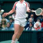 McEnroe and his Wimbledon worthy white-fro, in one of the best tennis matches of all time -- opposite Bjorn Borg.
