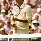 Nike released this cardigan sweater for defending Wimbledon champion Roger Federer, whose five-year winning streak was broken after a loss to Raphael Nadal.