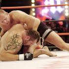 Dubbed as the best pound-for-pound fighter, Russian Fedor Emelianenko (top) lived up to his title against former UFC champion Tim Sylvia.