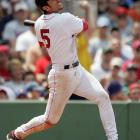 Celebrating his 29th birthday by hitting three homers in Boston's 22-4 rout of the Devil Rays, Nomar Garciaparra ties a major league record by becoming the 26th player to hit five home runs in two games.