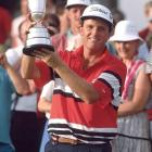 Mark Calcavecchia shoots a 275 at Royal Troon to win his only British Open.