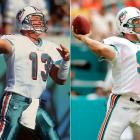 Fiedler compiled a 36-23 record as the Dolphins' starting quarterback and led Miami to consecutive playoff appearances after taking over for Marino in 2000. Though Fiedler's statistics were not impressive (he completed 58 percent of his passes for 11,040 yards with 66 touchdowns and 63 interceptions during his four-year stint with the Dolphins), he provided the team with a steady presence at the position and helped Miami win an AFC East title.