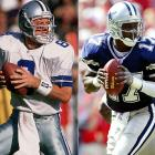 The Cowboys struggled for years to replace Aikman, and Carter was the first to assume the duties as a rookie starter in 2001. Although Carter gave the team a different dimension with his athleticism, his failures as a passer (completed only 51 percent of his passes while recording a 63.0 passer rating) and leader led to a revolving door at the position (Ryan Leaf, Anthony Wright, Clint Stoerner, Chad Hutchinson, Drew Henson and Drew Bledsoe) until finally discovering Tony Romo two seasons ago.