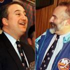 In 1998, Pickett finally sold his woebegone franchise to Howard Milstein and Steven Gluckstern, who promptly began trying to run it on a shoestring. Fans were soon in open, angry, chanting revolt as the Isles traded away promising young players such as Todd Bertuzzi, Brian McCabe, Bryan Berard and the popular Ziggy Palffy to save cash, all while failing to get a sniff of the playoffs.