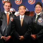 "In June 2006, a tantalizing glimmer of hope: Wang hired Ted Nolan as coach and brought in Neil Smith, the architect of the Rangers' 1994 Stanley Cup champions, as GM. Dynasty hero Bryan Trottier returned as director of player development and Pat LaFontaine was brought back as an advisor to Wang. Then Smith stunningly departed after only one month. ""As I made clear at the press conference last month, we are running this as a business, incorporating the opinions of our hockey operations staff, including Ted Nolan, Bryan Trottier and Pat LaFontaine,"" Wang explained. ""Neil expressed to me on a number of occasions his philosophical opposition to our business model."" LaFontaine quickly followed Smith out the door."