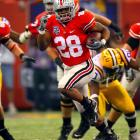 The nation's second-leading returning rusher capped a 1,609-yard sophomore season with 222 yards against archrival Michigan and 146 against LSU in the BCS championship game.