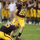 As a redshirt freshman, Weber captured the Lou Groza Award for the nation's top kicker after connecting on 24-of-25 field-goal attempts. He also served as ASU's punter.