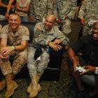 At Maddenpalooza this past Monday, Warren Sapp battled with troops overseas in Kuwait on Xbox LIVE as part of the latest 'Game with Fame' session.