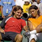 Federer dug out of a two-set hole to complete an epic 2-6, 6-7 (4), 7-6 (5), 6-3, 6-1 victory over Nadal in the Miami Masters final -- a match many consider the genesis of their great rivalry.