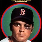 Tony Conigliaro's left cheekbone is shattered by a fastball thrown by Angels' hurler Jack Hamilton. The 22-year old Red Sox slugger will miss the rest of 1967 and all of the next year, and will never come close to the Hall of Fame potential displayed during his first three seasons.