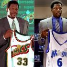 """Ewing's 15-year career in New York ended with his request for a change of scenery, and without a constantly-anticipated championship, after the Knicks fell to Indiana in the 2000 Eastern Conference Finals. Sent to Seattle in a four-team trade that fetched Glen Rice, Luc Longley, Travis Knight, Vladimir Stepania, Lazaro Borrell, Vernon Maxwell, and four picks, Ewing , 36, did not justify the expectation that inspired the Sonics' Gary Payton to say, """"I think Patrick's going to come and add us something that we needed"""" -- unless the Sonics needed Ewing's career-low 9.6 points per game. He played out the string with Orlando and retired on Sept. 18, 2002."""