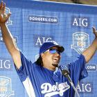 The Dodgers acquired Manny Ramirez from the Red Sox in a three-team deal just before the July 31 trade deadline.