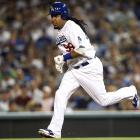 It was only the first game, but Manny Ramirez showed some hussle in the Dodgers' 2-1 loss to the Diamondbacks.