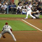 Manny Ramirez grounded into a double play in the ninth to end Friday night's game against Arizona.