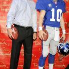Win a Super Bowl = Wax Museum treatment.
