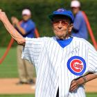 Leo Hildenbrand, 104, threw out the first pitch before the Sept. 20th Cardinals-Cubs game.