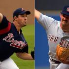 Mike and Greg Maddux become the first siblings to start a game against one another. In the rookie match-up, Cubs' righty Greg beats his older brother and the Phillies, 6-3.