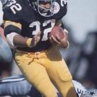Pittsburgh running back Franco Harris becomes the third player to rush for 11,000 yards. Harris would finish his career with 12,120 rushing yards.