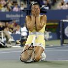 """As the women met at the net after the match finally ended, Williams felt compelled to say to the vanquished Jelena Jankovic, """"I'm sorry I got so excited."""""""