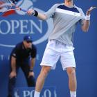 Federer breezed past the 21-year-old Murray in the opening set, outlasted his rundown opponent in the second and briskly put an end to Murray's dreams of a first Grand Slam title in the third.