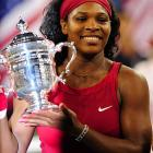 Serena Williams outlasted Jelena Jankovic 6-4, 7-5 Sunday night in a thrill-a-minute match chock full of marvelous strokes and momentum swings to win her third U.S. Open championship and ninth Grand Slam title.