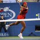 Serena's aggressiveness served her well as she continued to run down Venus's volleys.