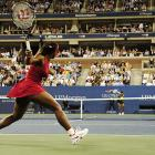 Serena improved to 9-8 against her older sister, Venus, in 17 professional matches versus each other.