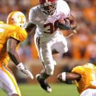 It's a bird. It's a plane. No, it's Tide running back extraordinaire Glen Coffee flying through the Vols' defense, to the tune of 82 combined yards and one touchdown. Next up for Alabama -- a likely breather with Arkansas State.