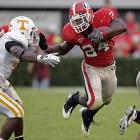 A week after Georgia's crushing loss to Alabama, Knowshon Moreno ran for 101 yards as the Dawgs put Phil Fulmer on the hot seat in Tennessee. Matthew Stafford added 310 yards and a touchdown.