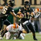 Riley Skinner threw a 7-yard scoring pass to D.J. Boldin with 5:28 left to lead No. 21 Wake Forest past Clemson 12-7 on Thursday night. He completed 22 of 34 passes for 186 yards, added 74 more yards rushing and led the decisive 15-play, 78-yard drive in the fourth quarter for the Demon Deacons.