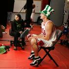 The Bulls guard is a big fan of St. Patrick's Day.