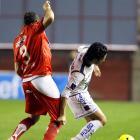 Argentina's Gonzalo Prosperi had a slight wardrobe malfunction when his team faced Mexico on Wednesday.
