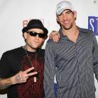 Michael Phelps' time as an A-lister lives on. He hung with Good Charlotte's Benji Madden on Tuesday in New York City...