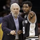 When did Kenny Rogers take over as coach of the San Antonio Spurs?