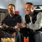 """Derek Jeter and Tiger Woods faced off in preparation for the """"Gillette-EA SPORTS Champions of Gaming Tournament powered by Xbox LIVE"""" while shooting a commercial in Orlando on Tuesday."""