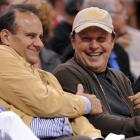 Joe Torre and Billy Crystal were all smiles at Wednesday's Lakers-Clippers game.