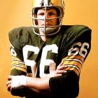 During his 15-year career with the Green Bay Packers, Ray Nitschke was perceived as a smart, seasoned, physical linebacker, playing a key role in the team's Super Bowl I and II triumphs. He gave off that same persona on the big screen, appearing in 1974's The Longest Yard.