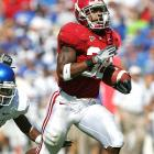 For once, the Crimson Tide weren't dominant in victory; but the same could not be said for junior running back Glen Coffee, who rummaged through the Wildcats defense for 240 total yards (225 rushing) and one touchdown.