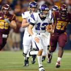 Mike Kafka ran Northwestern's spread-option offense to perfection, racing through the Golden Gophers defense for 217 yards -- a school record for a quarterback. The Gophers punted seven times, had five penalties and rushed for only 68 yards on the day.