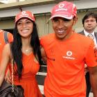 Lewis Hamilton celebrated his Formula One title with girlfriend (and Pussycat Doll) Nicole Scherzinger last Sunday.
