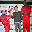 """The Harlem Globetrotters attended David Wright's """"Do The Wright Thing"""" benefit on Wednesday."""