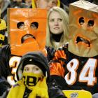 You know it's November when the Bengals fans start donning the paper bags.