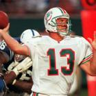 Dan Marino becomes the first quarterback in NFL history to pass for more than 50,000 yards.