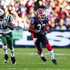 Bills cornerback Jabari Greer has two interceptions through 10 weeks, and he's taken them both back for touchdowns. The first came in Week 4 against the Rams' Trent Green, and the second was in Week 9 against Brett Favre and the Jets.