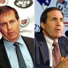 Belichick became coach of the Jets in 1999, after Parcells resigned to take over as GM. But during his introductory press conference, Belichick wrote on a sheet of loose leaf paper, ''I resign as HC of the NYJ'' and spent the next half-hour explaining his decision. He was hired as head coach of the Patriots several days later. The Jets filed tampering chargers and were granted a first-round pick as compensation.